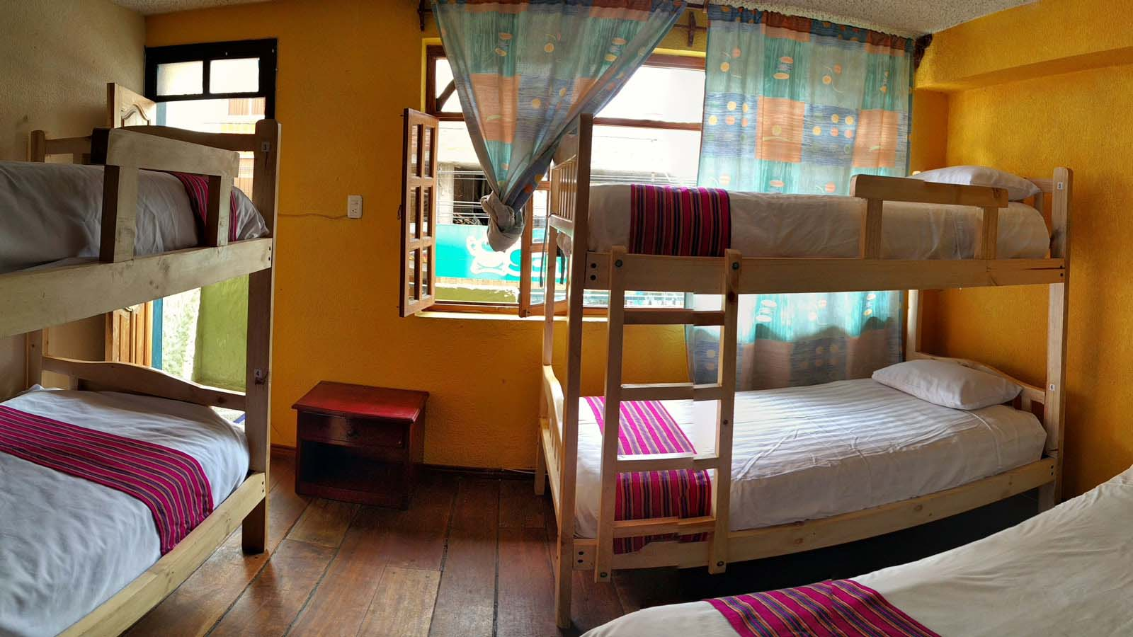 Backpacker Hostel in Baños Ecuador, Erupcion Hostel located in the center of Baños Ecuador